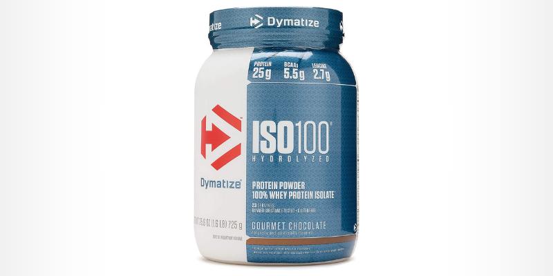 melhor whey isolado ISO 100 - Dymatize