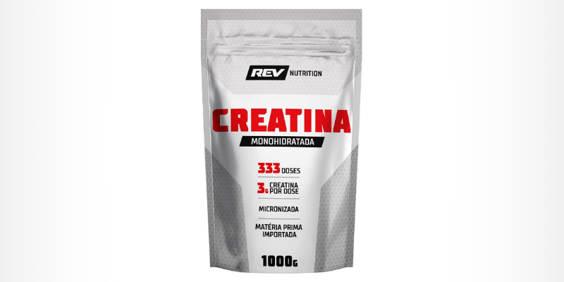 Creatina Monohidratada em Pó - Rev Nutrition